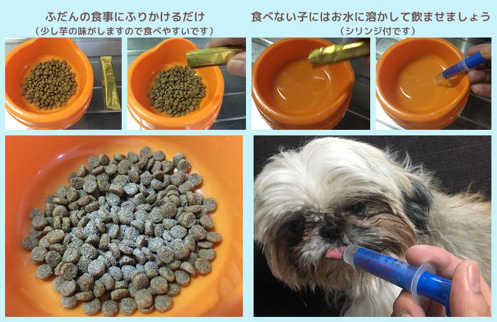 ペットに菊芋